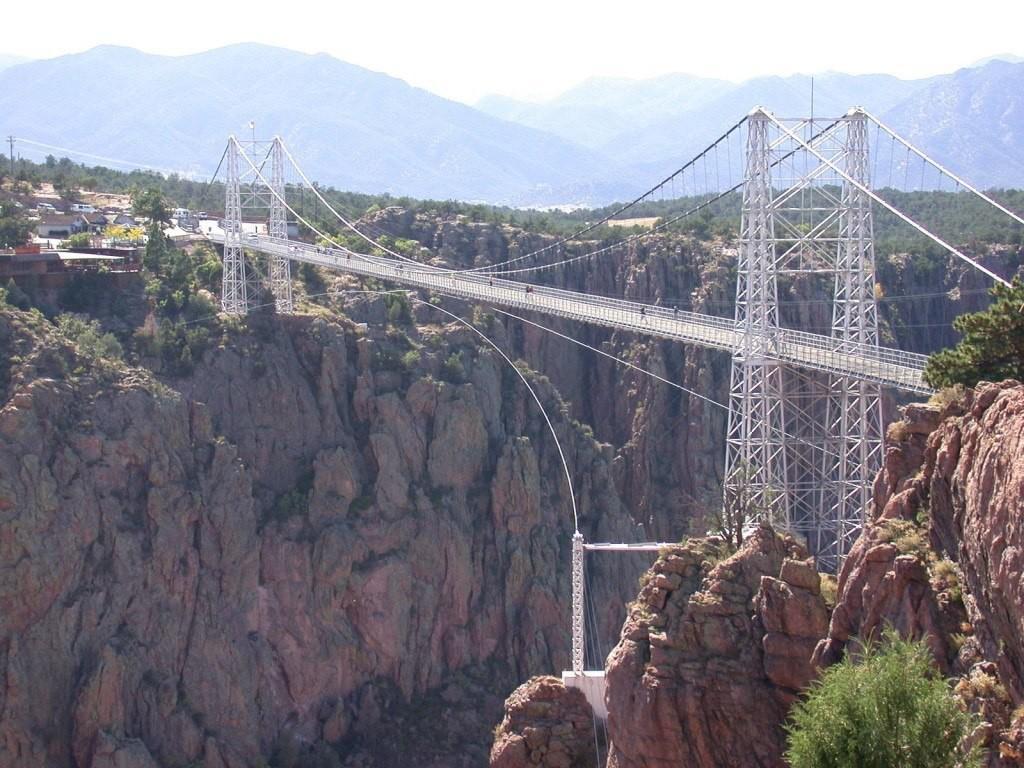 мост Роял Джордж в штате Колорадо