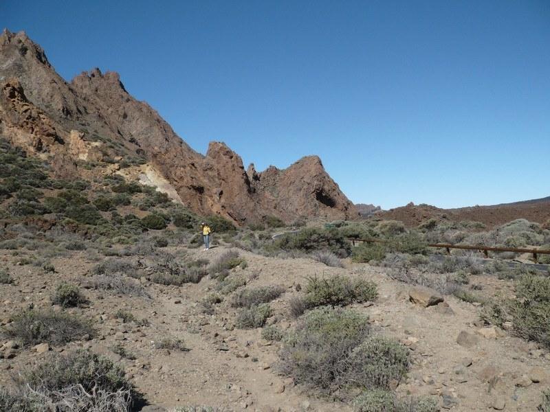 Скалы недалеко от вершины Тейде