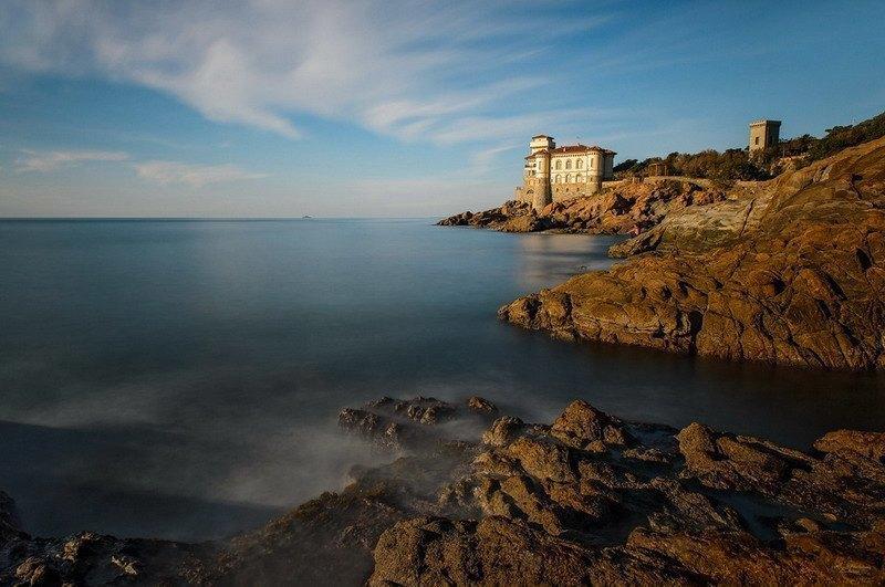 морское побережье Тосканы