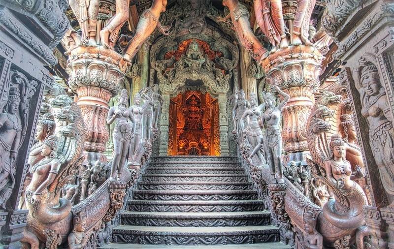 Храм Истины,Таиланд