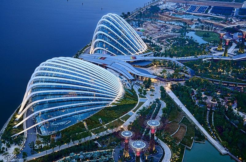 Сады у залива-Сингапур