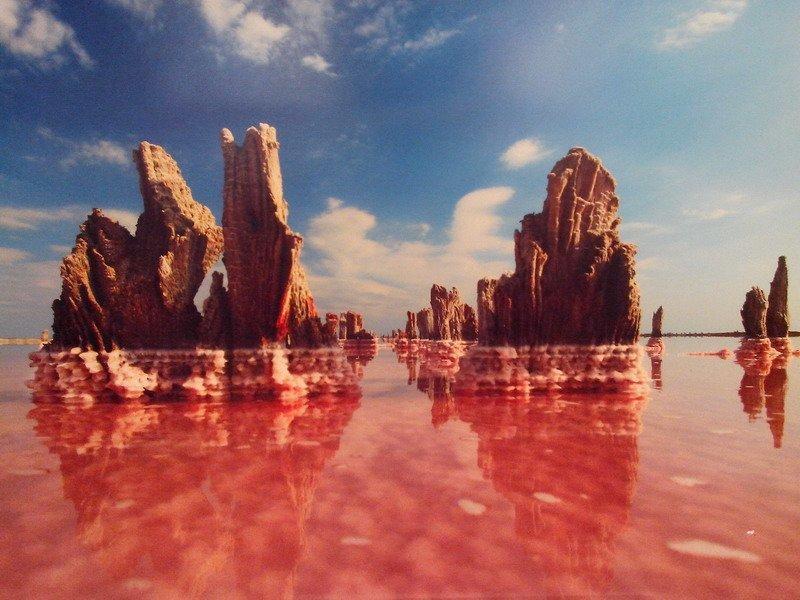 соленое озеро, Евпатория, Крым