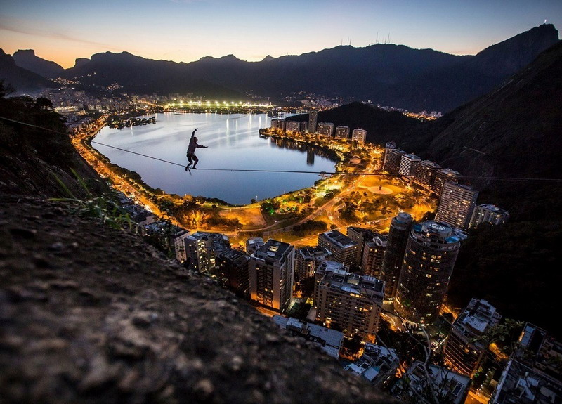 город_Рио-де-Жанейро_фото_канатоходец