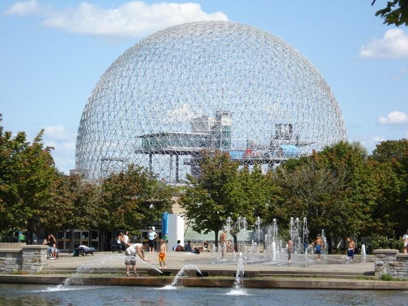 Монреаль, Канада, музей Биосфера