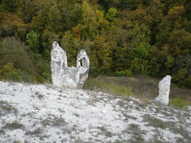 меловые останцы-Малые Дивы