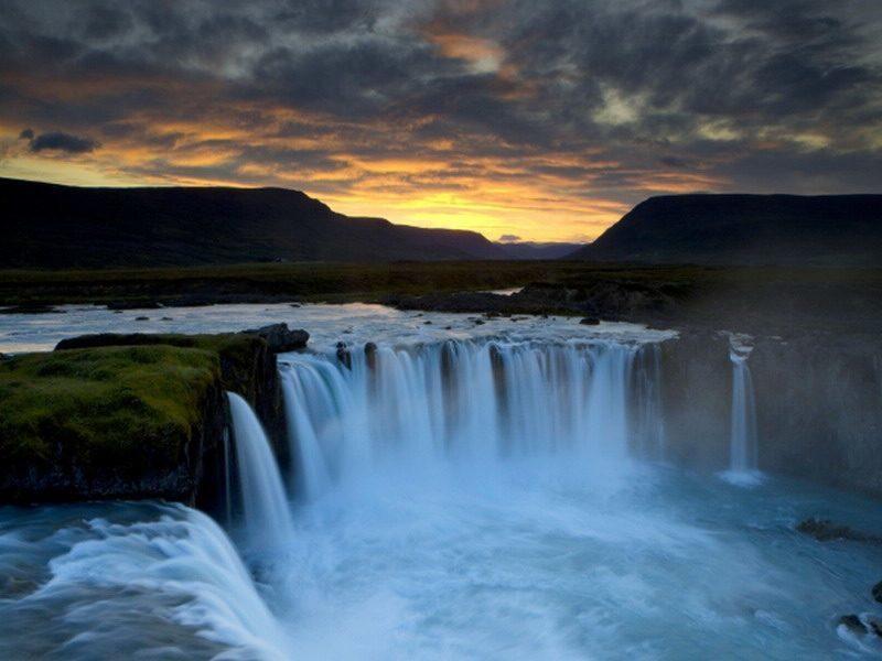 фото водопад Детифосс, Исландия