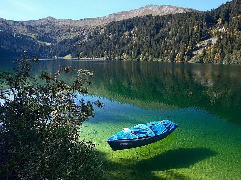 озеро Кенигзее, Германия-фото