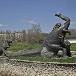 Бивни мамонта, бронтозавр, Саки