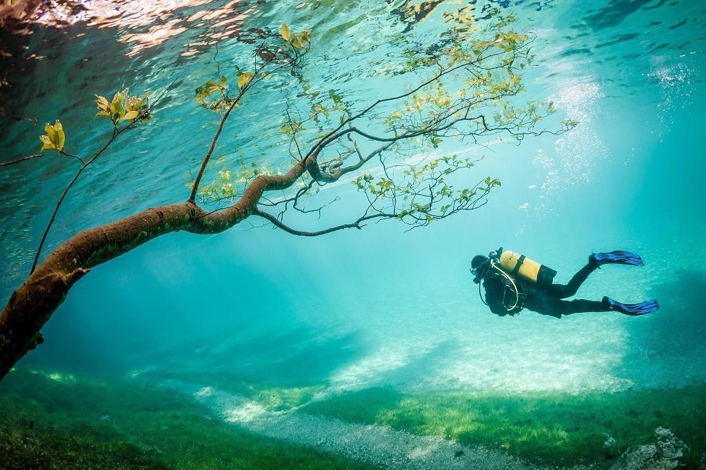 парк под водой фото