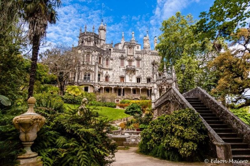 португальский замок Регалейра фото