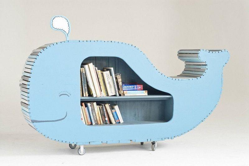 книжная полка-кит фото