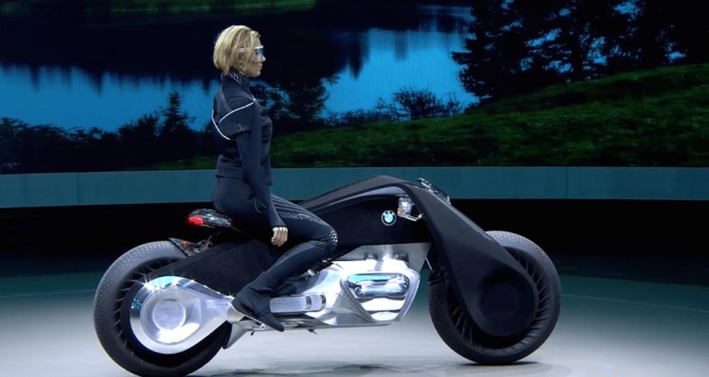 фото-мотоцикл будущего концепт БМВ  Vision Next 100