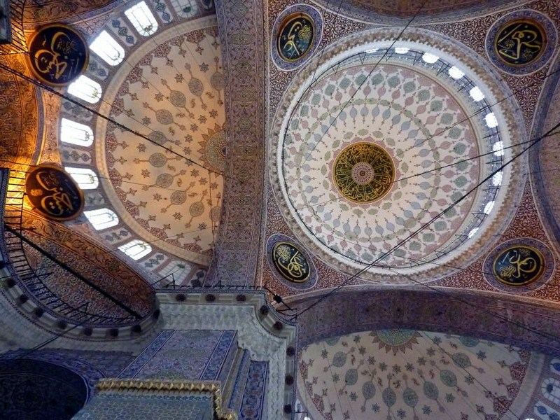 рукотворная красота-потолки мечетей-фото3