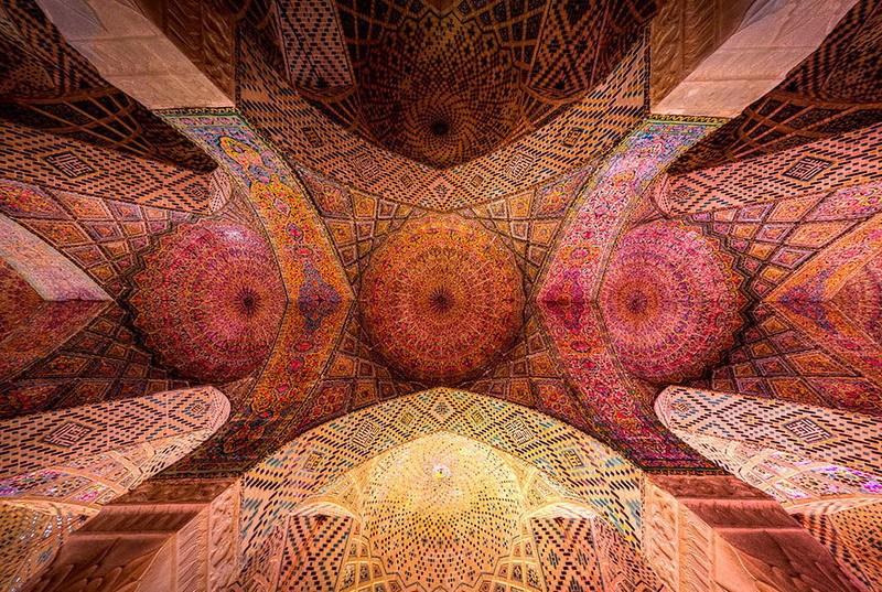 рукотворная красота-потолки мечетей-фото16