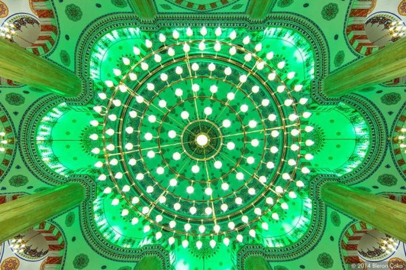 рукотворная красота-потолки мечетей-фото19