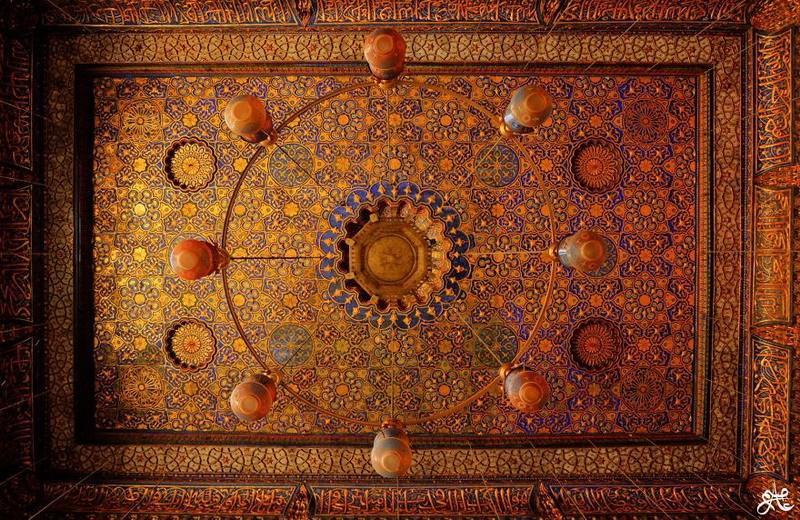 рукотворная красота-потолки мечетей-фото10