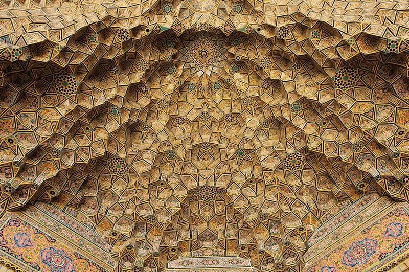рукотворная красота-потолки мечетей-фото14