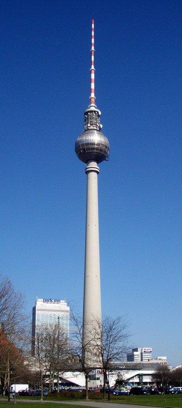 фото Берлинская телебашня, Берлин(Германия)