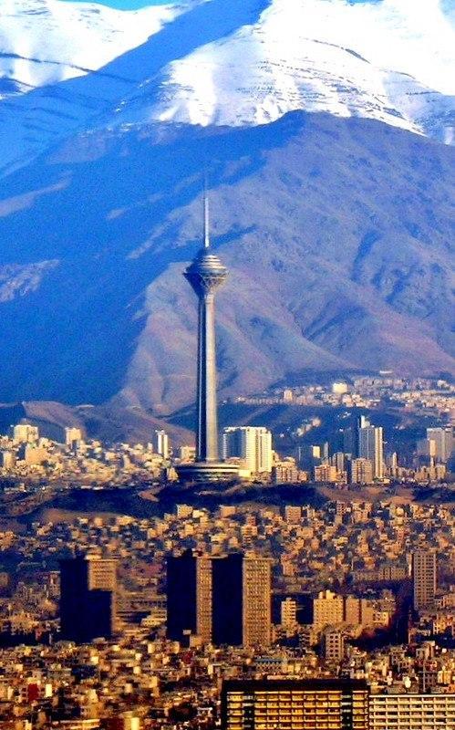 фото Бордже Милад, Тегеран(Иран)