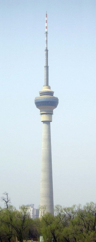 фото Центральная телевизионная башня, Пекин(Китай)