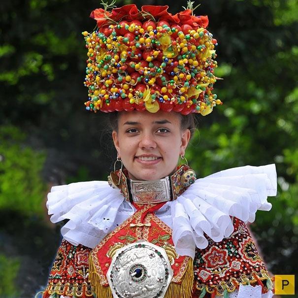 немецкая невеста(княжество Шаумбург-Липпе)