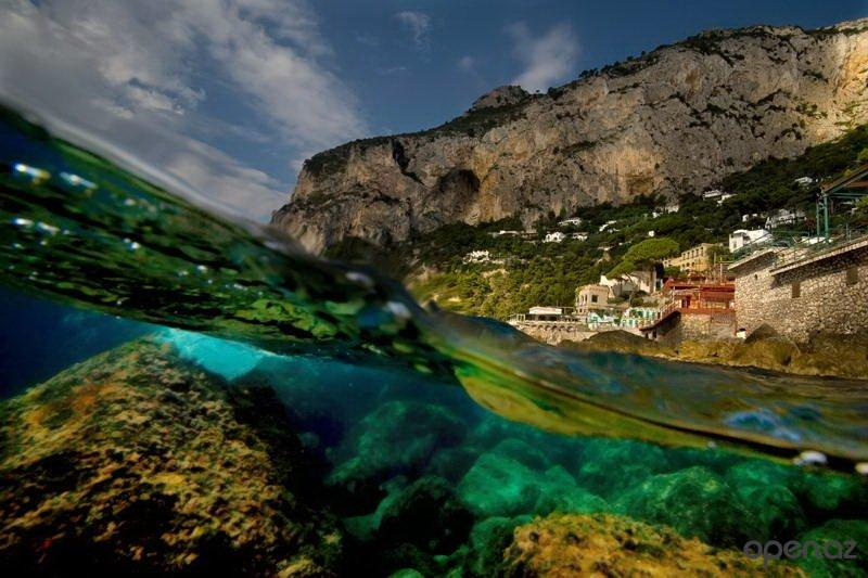 фото под водой и над водой-Алессандро Кутуньо