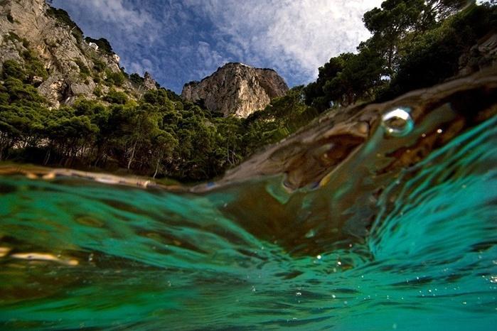 фото под водой и над водой-Алессандро Кутуньо2
