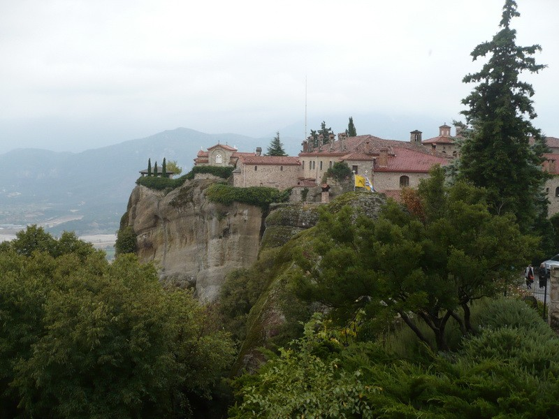 фото -Метеоры, монастырь