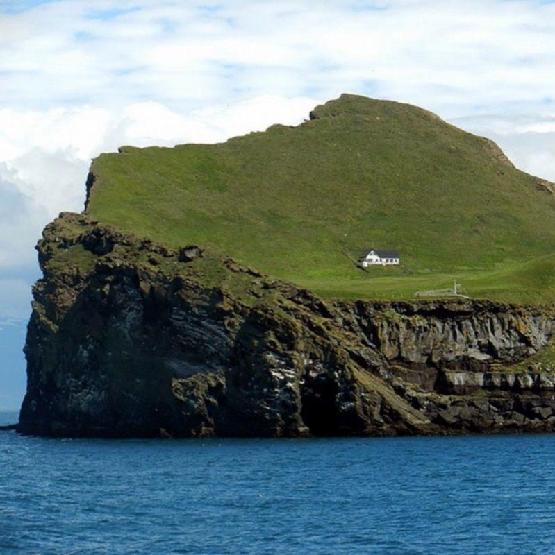 отров Эллида, Исландия фото