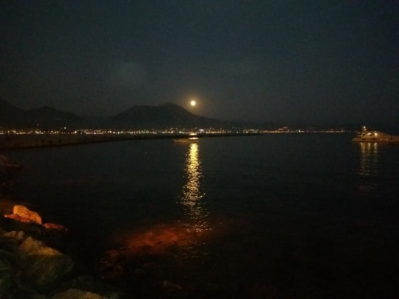 лунная ночь Алания Турция -фото