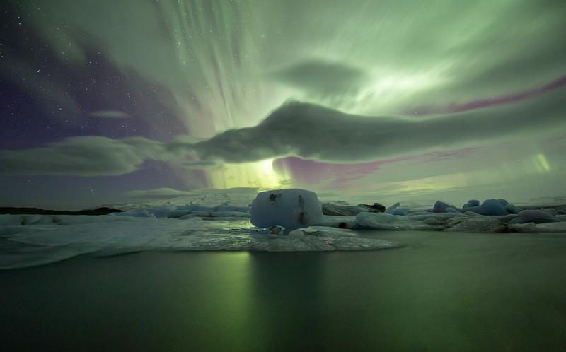 фото ледниковая лагуна Йокульсарлон