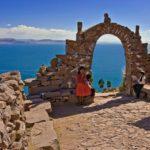 Озеро Титикака в Южной Америке
