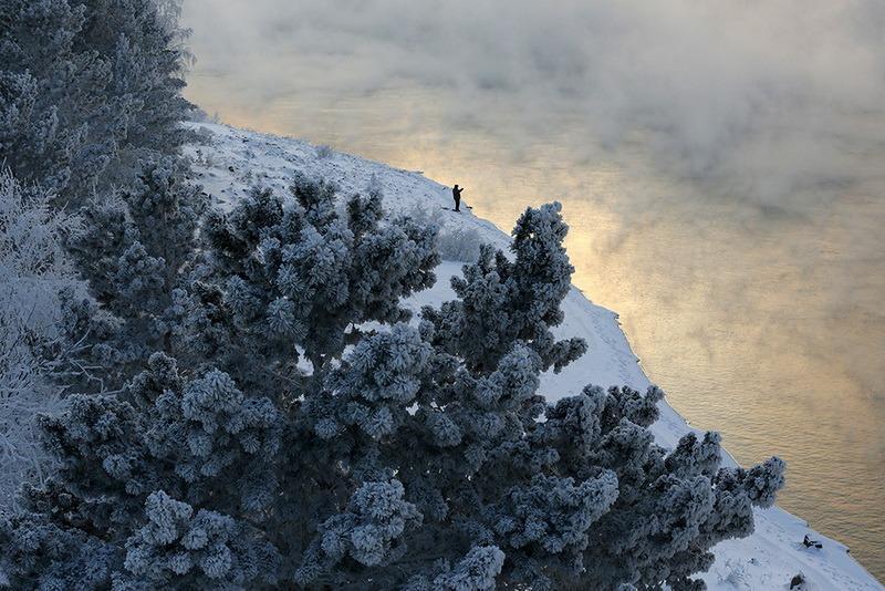 зимняя рыбалка -фото