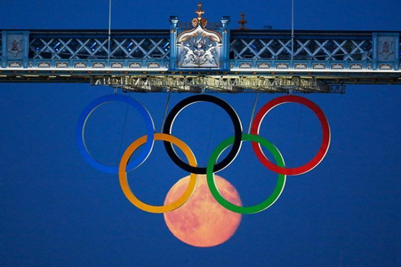 шесть олимпийских колец фото