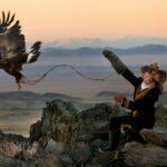 Охота с беркутом в Казахстане — фото